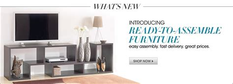 Macys Furniture Customer Service Number by What S New Introducing Ready To Assemble Furniture Easy