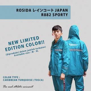 Jas Hujan Anak Nouvo By Jollipong jas hujan rosida r882 sporty edition lebih bagus dan tebal