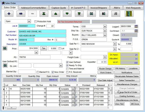 mrp logistic software