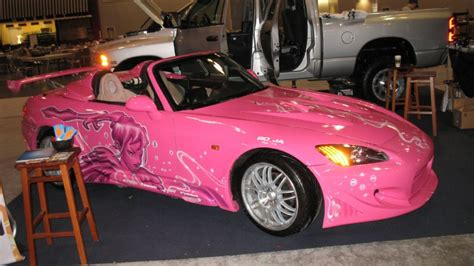 pink paint colors for cars images