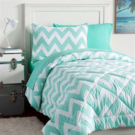teenage bedroom comforter sets pb teen zig zag stripe value comforter set twin pool