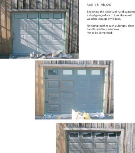 faux painted garage doors flourish custom faux painted garage door