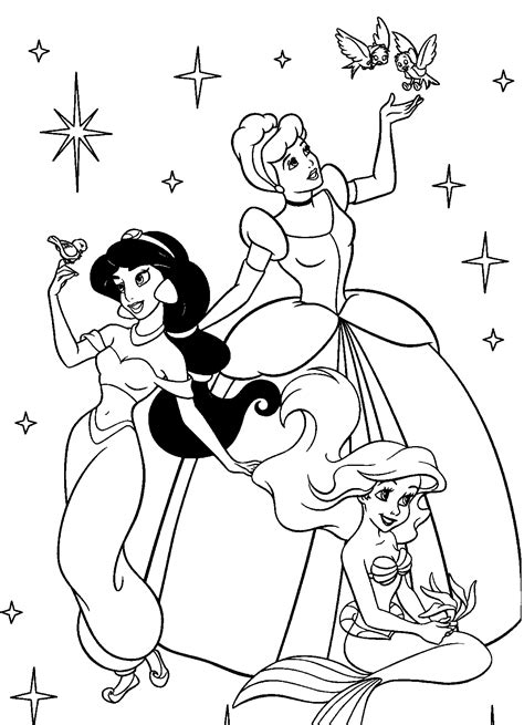 printable pictures beautiful princess coloring pages 59 on free printable princess coloring pages beautifull image 28