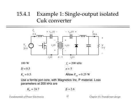 coupled inductor isolated cuk converter coupled inductor isolated cuk converter 28 images buck best way to power a 3 3v circuit from