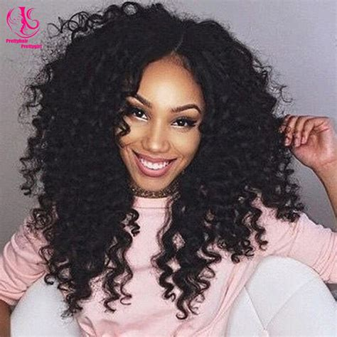 Hot! Beauty Heat Resistant Short Kinky Curly Synthetic