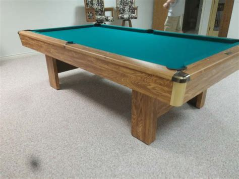 Brunswick Bristol Pool Table Refelting Pool Table L Shades