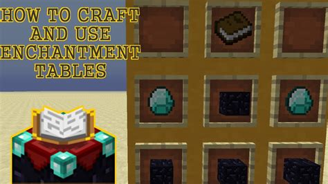 8 enchanting tips on how to make your bedroom look bigger how to craft use an enchantment table minecraft 1 6 2