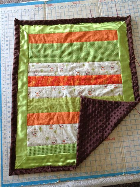 Minky Quilts by Baby Quilt With Minky Quilt Sewing