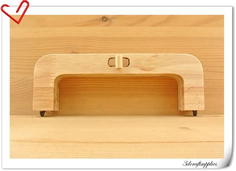 8 inch 20cm x 7 5cm wooden purse frame wooden handle wood purse frame with lock m84 from