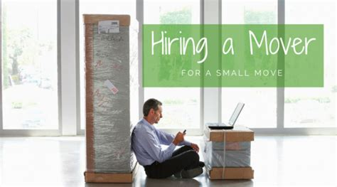 hire a mover should you hire a mover for a small move