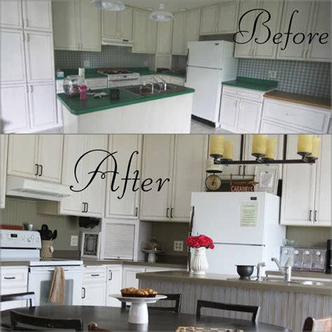 kitchen backsplash using beadboard wallpaper transform