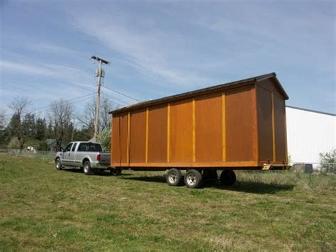 Shed On Wheels by 8x24 Storage Shed On Wheels Non Warping Patented