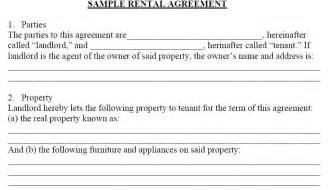 Room Rental Lease Agreement Template by Doc 662990 Rent Contract Template Template Bizdoska