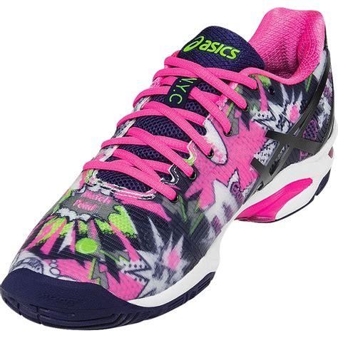 asics gel solution speed 3 nyc s tennis shoe white
