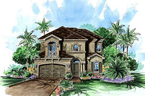 narrow lot mediterranean house plans narrow lot mediterranean 66086we architectural designs house plans