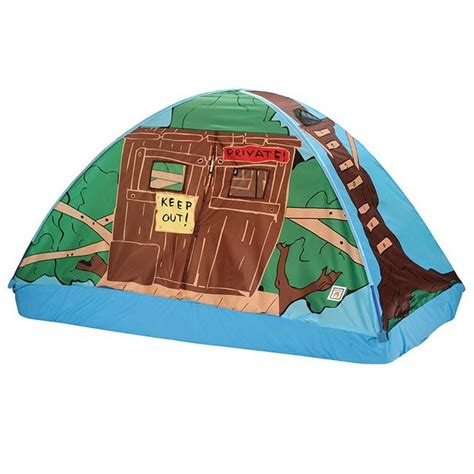 Pacific Play Tents Tree House Bed Tent Full Size