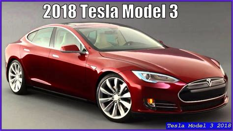Tesla Ivender Iii Authentic 1 tesla model 3 2018 new electric cars review