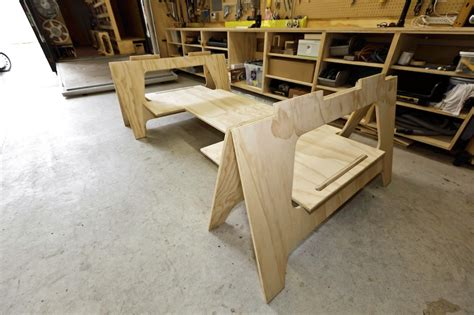 plywood bench plans plywood saw horses pdf woodworking