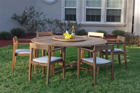Buckingham Horizon Teak Patio Dining Set Westminster Teak Patio Furniture Sets
