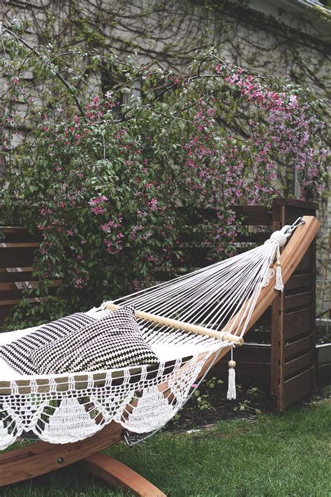 Cing Pod Interior by Backyard Hammock With Stand 28 Images Arty Backyard