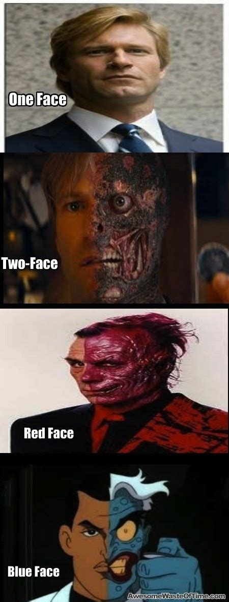 Two Face Meme - dr suess the dark knight funny stuff pinterest