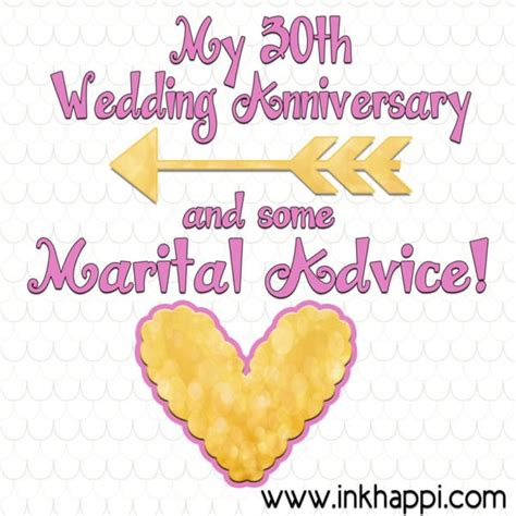 Wedding Advice Websites by My 30th Wedding Anniversary And Some Marital Advice