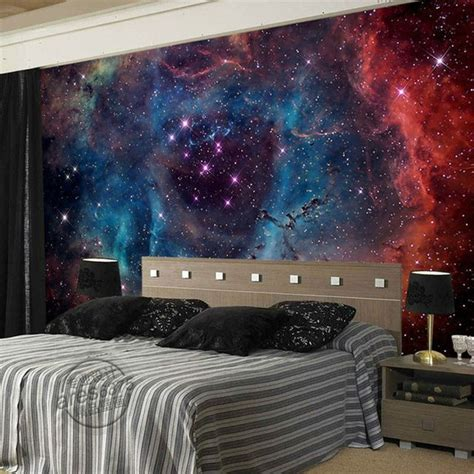 galaxy wallpaper for bedroom gorgeous galaxy wallpaper nebula photo wallpaper custom 3d