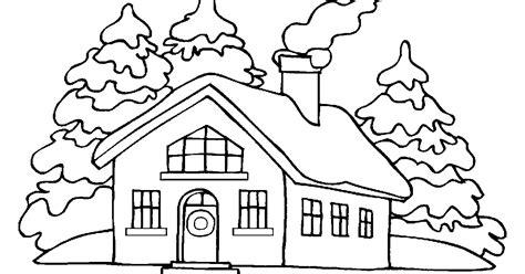 imagenes para colorear jardin dibujos de casas para colorear