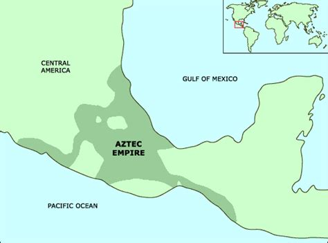 aztec empire map ecuip the digital library science cultural astronomy