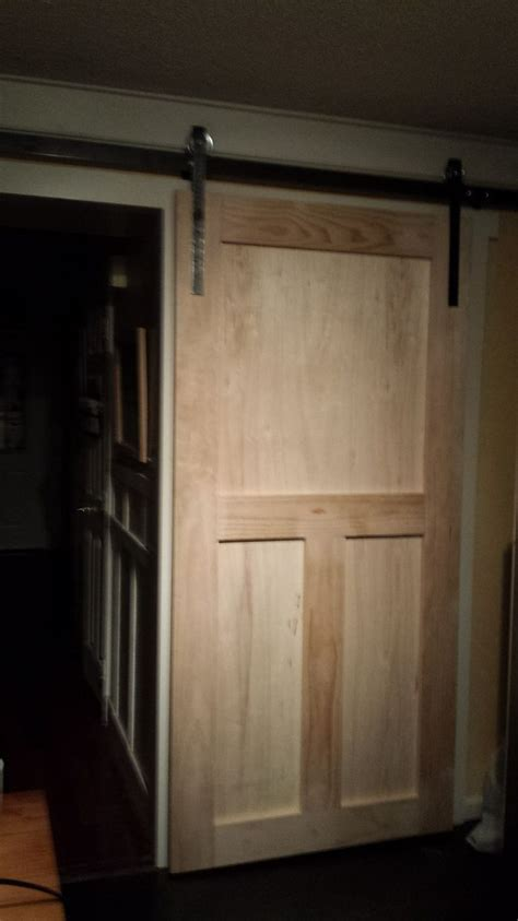 How To Make A Barn Door How To Build A Pantry Barn Door Hometalk