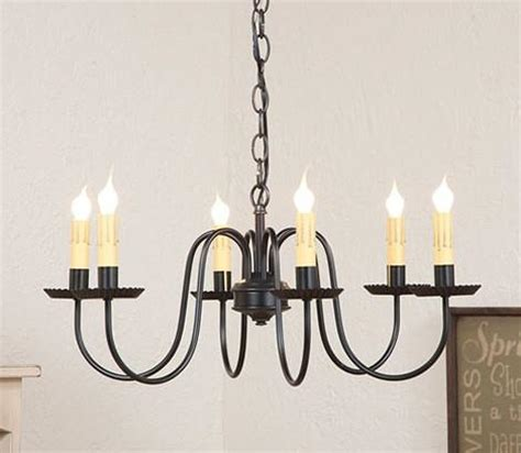Handcrafted Chandeliers Primitive Wrought Iron Chandelier Handcrafted Six 6 Arm Candelabra C Saving Shepherd