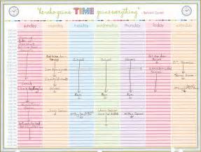 time calendar template weekly calendar with time slots template weekly calendar