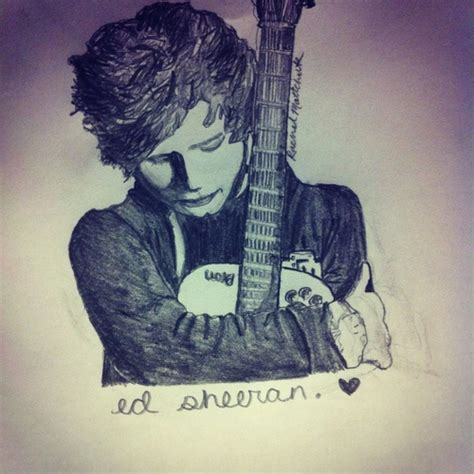 ed sheeran perfect model ed sheeran handwriting hand drawing of ed his guitar