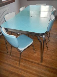 Blue Formica Kitchen Table by Fantastic Chrome Vintage 1950 S Formica Kitchen Table