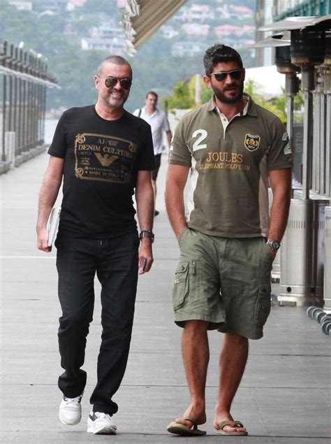 george michael s ex fadi fawaz to be kicked out of star s george michael and fadi fawaz famous gay couples