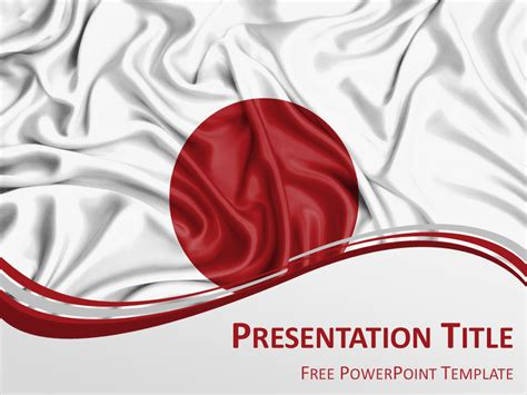 japanese menu template japan flag powerpoint template presentationgo