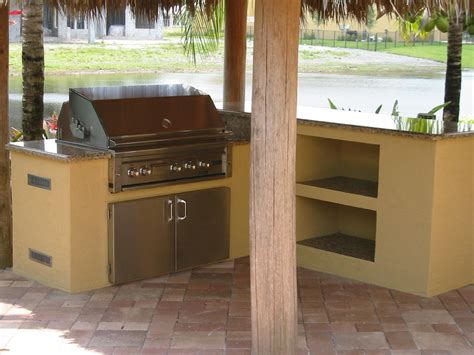 backyard built in bbq backyard barbecue ideas lynx built in bbq grill in custom grill island and outdoor
