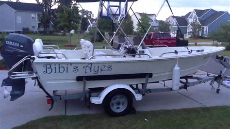 triumph boats youtube 2007 triumph 170 dual console in mount pleasant sc youtube