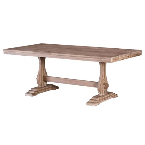 precia reclaimed wood dining table driftwood buy
