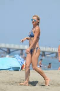 michelle hunziker in a bikini 10 photos
