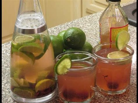 Apple Cider And Lime Detox by Apple Cider Vinegar Detox Water With Cherries Lime