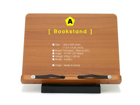 book desk stand book stand portable wooden reading desk holder a ebay