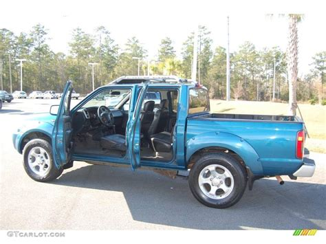 electric and cars manual 2001 nissan frontier interior lighting 2001 electric blue metallic nissan frontier sc v6 crew cab 2669351 photo 5 gtcarlot com