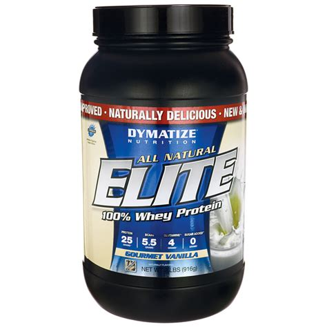 Elite Whey Isolate Dymatize Nutrition Elite Whey Protein Isolate Gourmet