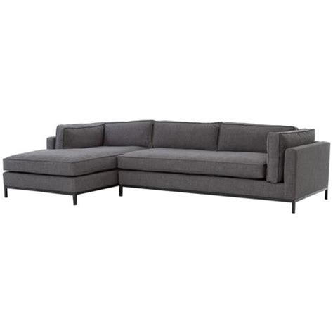 left arm sectional sofa diorama modern classic charcoal left arm chaise sectional