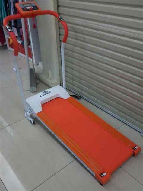 Alat Fitnes Rumahan harga treadmill elektrik mini 1 fungsi jakarta