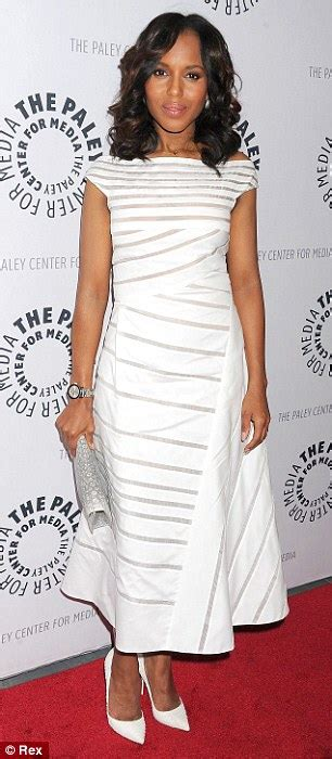 new nail shap wearn by olivea pope in 2015 series kerry washington fixes the red carpet in olivia pope style