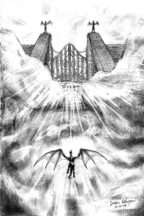 The Gates of Heaven by Dragon7350 on DeviantArt Gates Of Heaven Design