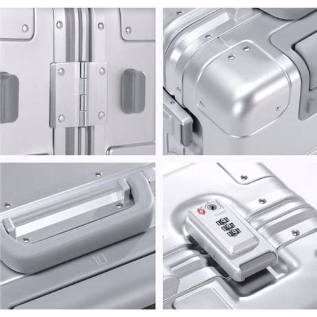 Xiaomi Runmi 90 Points Metal Suitcase Koper 20 Inches xiaomi runmi 90 points smart metal suitcase koper 20 inches silver jakartanotebook