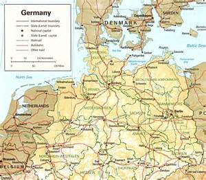 Map Of Northern Germany by Germany History Map Images
